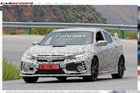 future honda civic la future honda civic type r en photos avant un