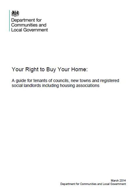 social housing right to buy right to buy your right to buy your home a guide