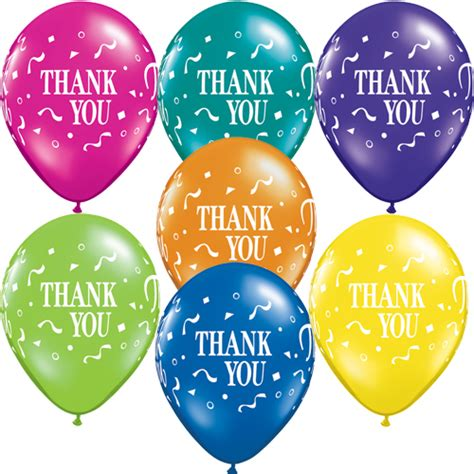 Emerald Home Decor by 11 Inch Thank You Thank You Confetti Fantasy Assortment
