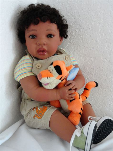 american baby dolls for toddlers reborn 22 quot american ethnic biracial toddler boy