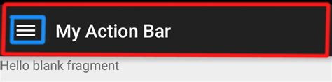 android themes with action bar android change icon drawer