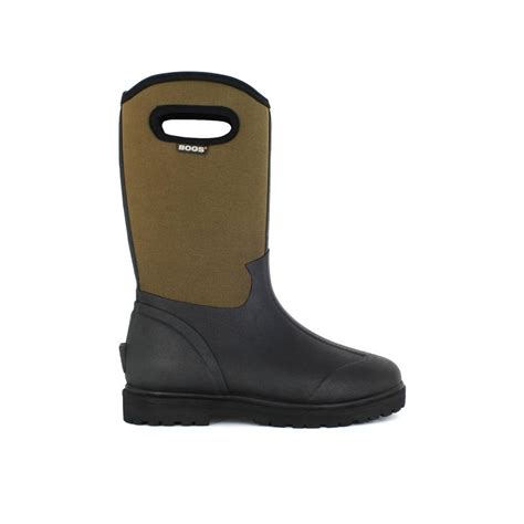 mens rubber boots size 15 bogs roper 13 in size 15 black rubber with neoprene