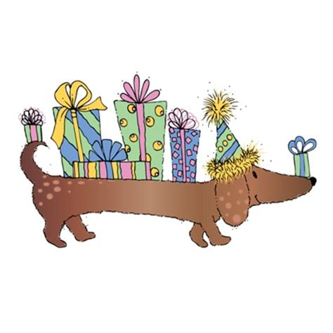 Happy Birthday Clip With Dogs Free by Happy Birthday Clipart Clipartxtras