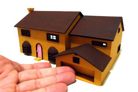 simpsons house  model  printable stl cgtradercom