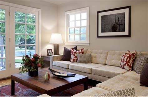 sliding french doors living room with green sofa and cresta drive