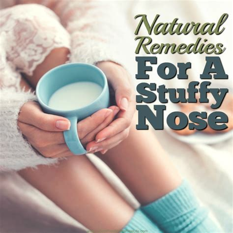 remedies for a stuffy nose free and remedies