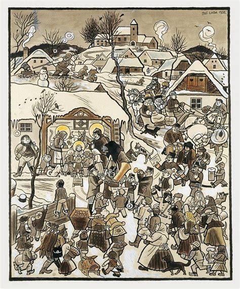 ladari d autore josef lada josef lada illustration et enfants
