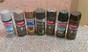 krylon camouflage spray paint paint your ar 15 multicam