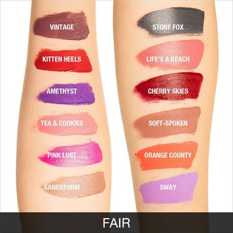 Nyx Suede swatches of nyx liquid suede lipsticks makeup and