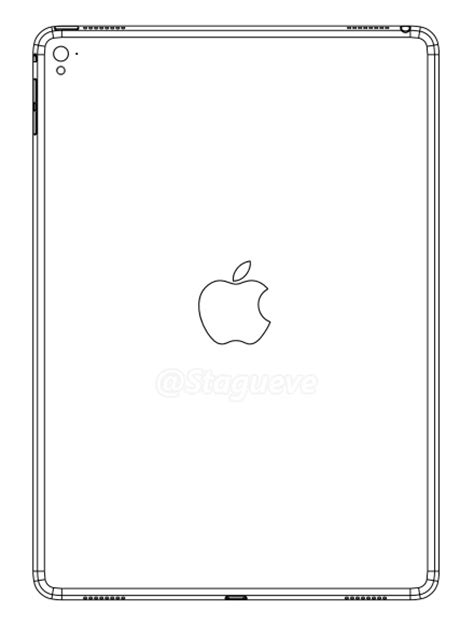 pattern drafting ipad leaked ipad air 3 design drawing points to four speakers