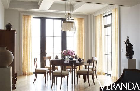 Veranda Dining Rooms by Photo Tour Hearst Designer Visions Chelsea Apartments