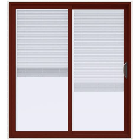 Composite Sliding Patio Doors by Masterpiece 72 In X 80 In Composite Right Sliding