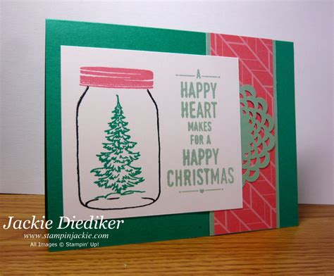 Give Cheer Gift Card - pals paper arts challenge 319 jar of cheer stin jackie
