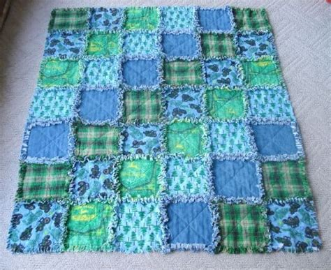 Baby Rag Quilt With Easy Video Tutorial   The WHOot