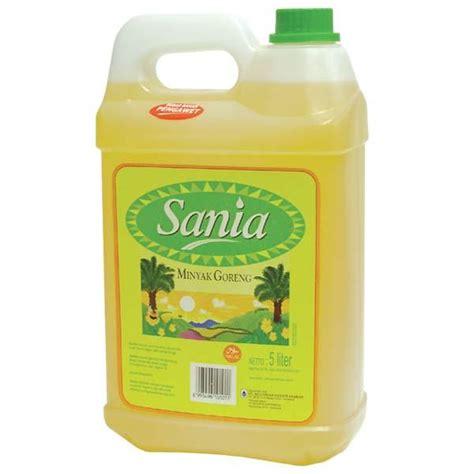 Minyak Goreng Sania hypermart sania cooking derigent 5 ltr
