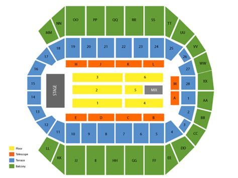 five finger death punch biloxi ms mississippi coast coliseum seating chart events in