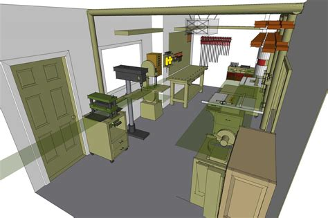 shop layout work   woodworking shop layout