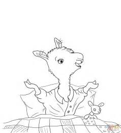llama coloring pages 1000 images about preschool winter activities on
