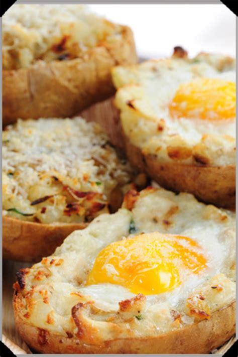 Baked Egg Potato 10 cheap ways to top a baked potato