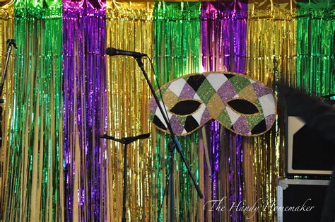 How To Decorate For A Masquerade Themed by Masquerade Mardi Gras Mask Decorations