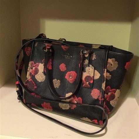 40 coach handbags coach mini floral print crossbody