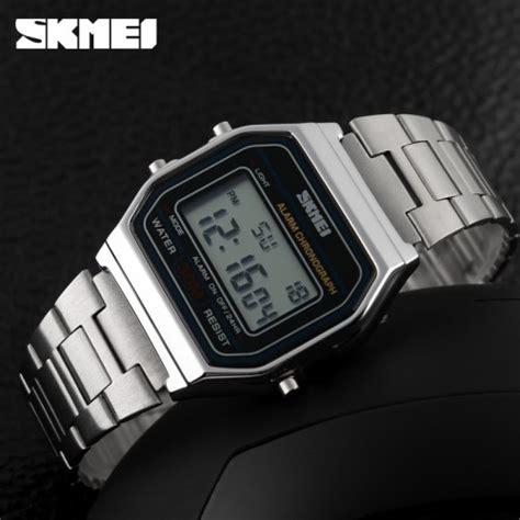 Paling Murah Skmei Casual Stainless Dg1123 Silver skmei jam tangan digital pria dg1123 silver