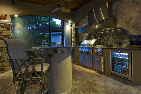 Luxury Kitchen Furniture the man cave signature outdoor living spaces project ryan