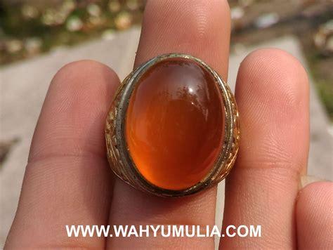 Batu Akik Keladen Kunyit 249 batu akik carnelian oranye pacitan kode 443 wahyu mulia