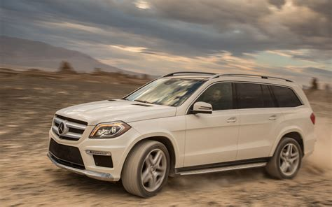 2013 mercedes gl 550 4matic front three quarter in