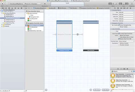 storyboard tutorial for xcode 6 xcode tutorial practice 3 storyboards mapkit view