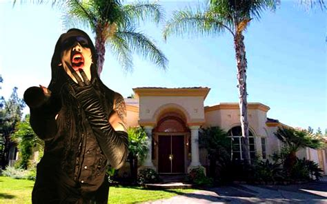 marilyn manson s house marilyn manson s house for sale but 1 1 million won t buy much of a hellhole these