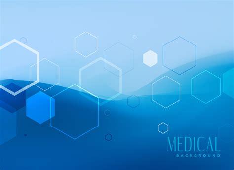 medical background concept design  blue color