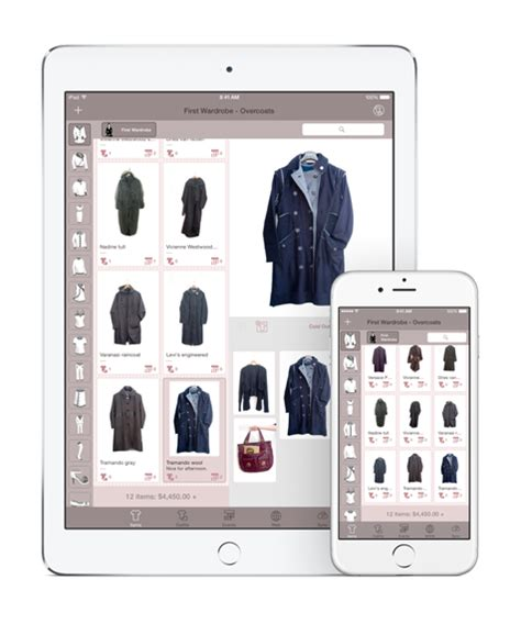 Database Your Wardrobe With Dress Assistant by Dress Assistant Wardrobe Organizer For Iphone
