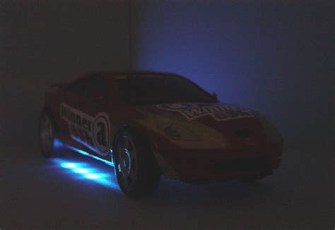 light up remote car 1 24 nissan 350z blue light up remote car