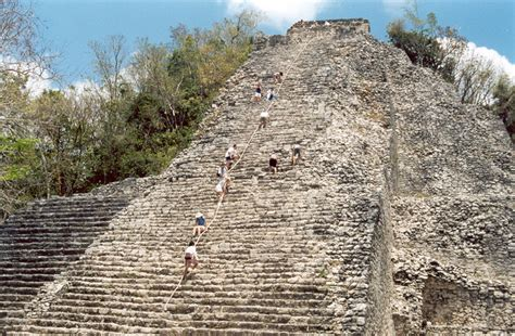 coba pyramid mexico my pictures from mexico 2014 pinterest nohoch mul pyramid