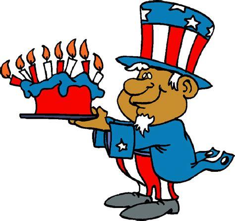 happy 4th of july birthday clip art happy birthday clip art cake