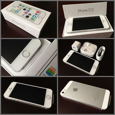 Iphone 5s Silver Second