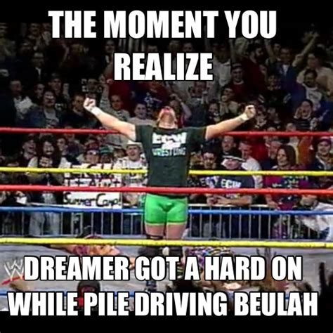 Funny Wrestling Memes - wwe ecw lol picoftheday funny wrestling meme