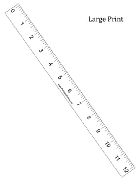 printable photo documentation ruler large print ruler printable ruler