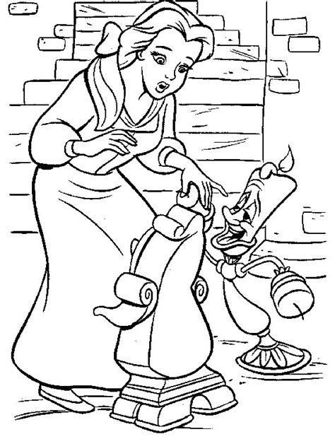 coloring pages of belle the princess princess belle with friends coloring pages princess