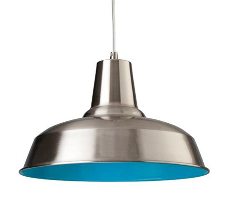 Blue Pendant Lighting Firstlight Smart Single Light Pendant With Blue Interior 8623bsbl Firstlight Lighting