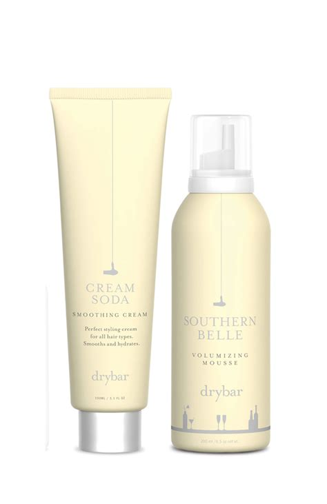 category hair products drybar hair products the dieline packaging branding