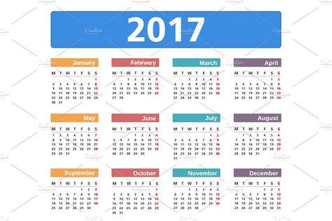 calendar graphics creative market