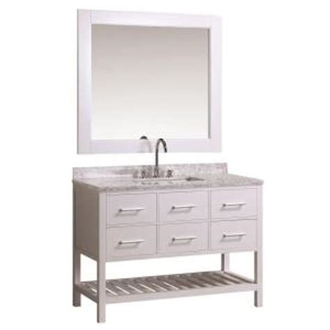 design elements vanity home depot design element london 48 in w x 22 in d vanity in white