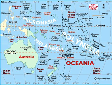australia pacific map australia map map of oceania south pacific map new