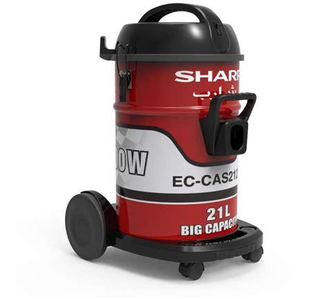 Vacuum Cleaner Sharp Ec St10s Sharp Ec Ca2121 Z 220 Volt Drum Shop Vacuum 21 Liters