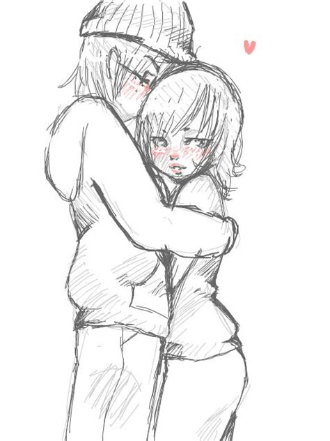 Anime Couples Kissing Sketches   11 best cute chibi couples images on pinterest anime