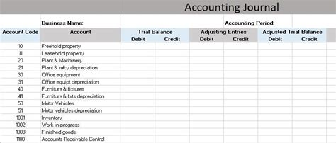 Free Accounting Templates In Excel Free Excel Accounting Templates