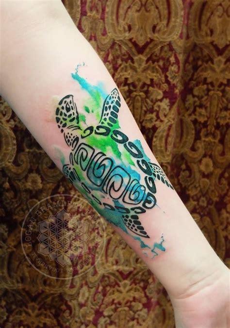 watercolor turtle tattoo watercolor gallery watercolor sea