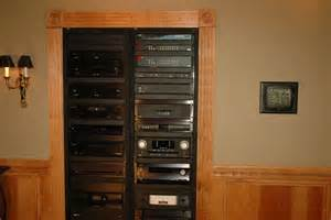 Audio Component Racks Home Theater In Wall Rack Audio Component Rack